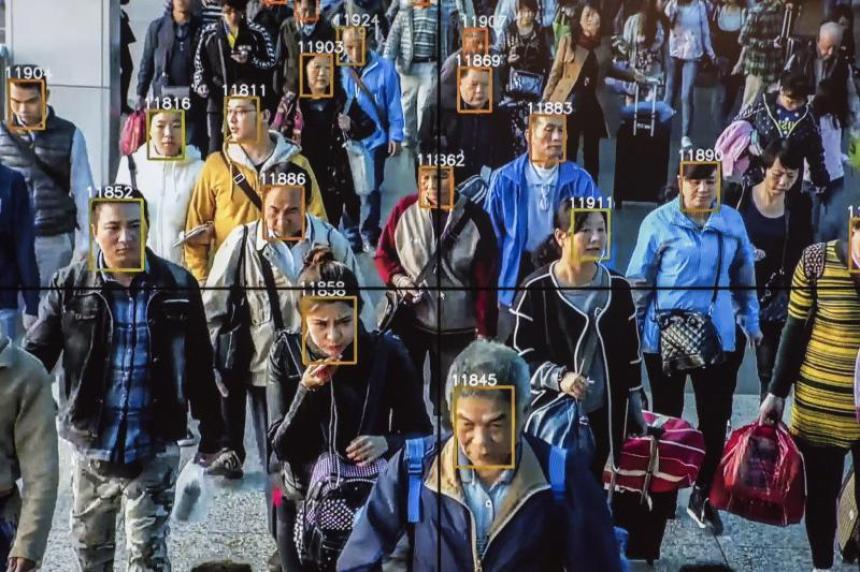 Antikristligt kontrollsystem i Kina
