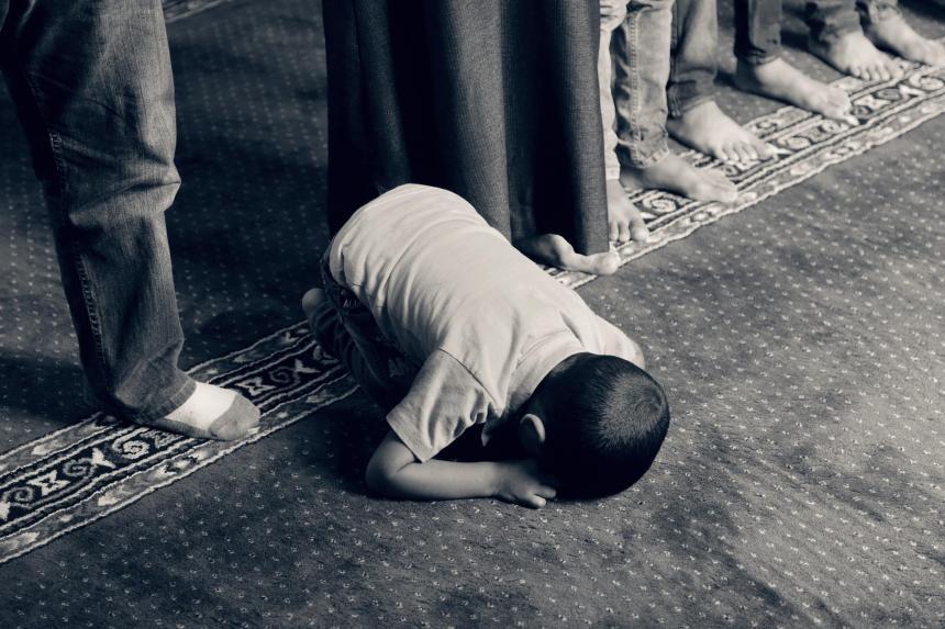 Muhammed tillbes i islam