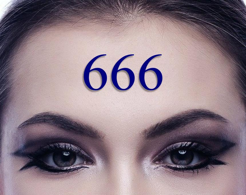 666 - vilddjurets märke.